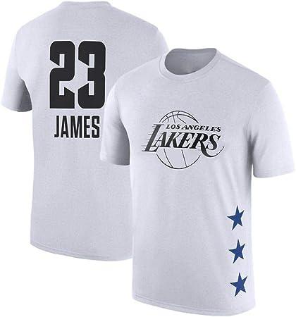 T-SHIRT Camiseta NBA All-Star Player para Hombre Manga Corta Algodón Jersey Casual Sports Tops Sueltos C-XL: Amazon.es: Hogar