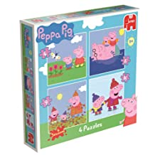 Peppa Pig 4 Jigsaw Puzzles in a Box