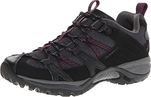 Merrell Women's Siren Sport 2 Hiking Shoe (8 C/D US, Black/Purple)