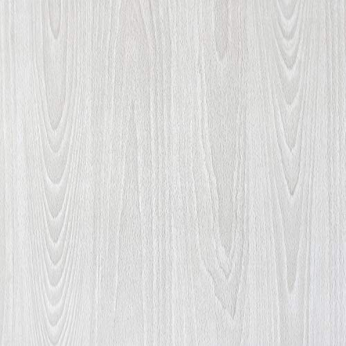 "Gray Wood Grain Contact Paper Gray Peel and Stick Wallpaper Removable Gray Wood Texture Contact Paper Self Adhesive Wallpaper Grey Wall Covering Shelf Liner Drawer Liner Vinyl Film Roll 78.7""x17.7"""