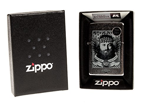 Zippo 207 CI016950 Duck Dynasty Jace Beard Country Boss Man ()