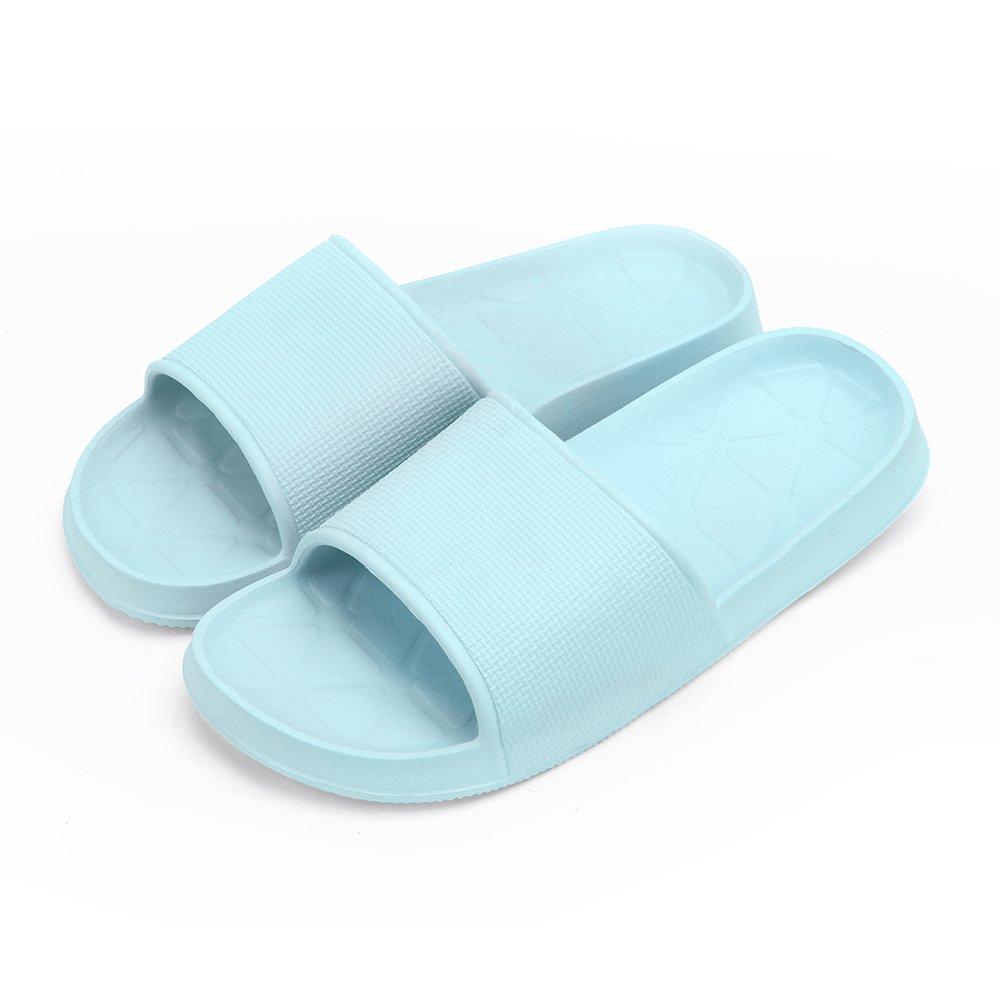 WILLIAM&KATE Bath Slippers Non-Slip Shower Sandals House Indoor Floor Slipper Slide for Adult Couples