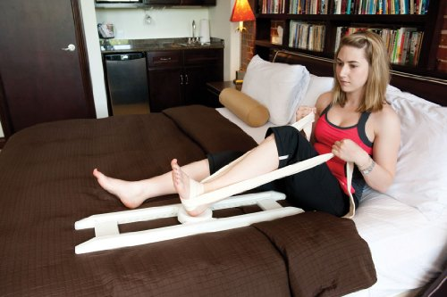 EZ Mend Knee and Hip Rehabilitation Device, for post surgery exercises, sports injuries and nursing home patients.