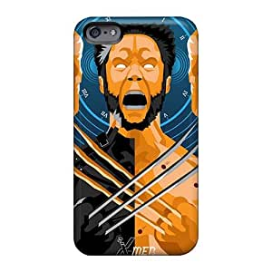 Shock Absorption Hard Phone Case For Iphone 6 (tub13901gwLm) Customized Colorful Ant Man Series