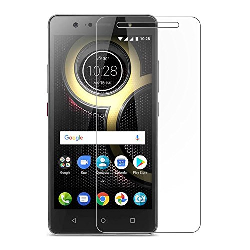 cheap for discount 964c6 10236 [2 Packs] Lenovo K8 Note Screen Protector, Lenovo K8 Note Tempered Glass  Screen Protector, HD Clear Screen Guard for 5.5'' Lenovo K8 Note