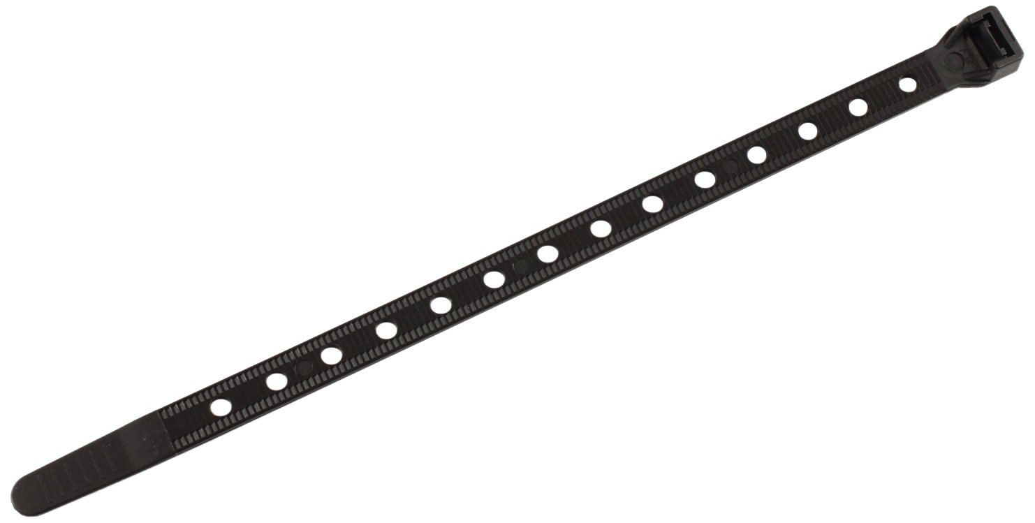 Southwire CT1450100 14 Inch Heavy Duty Cable Ties Strong 50 lb Test Universal Easy Zip Black Pack of 100