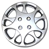 hyundai 14 wheel cover - TuningPros WSC-821S14 Hubcaps Wheel Skin Cover 14-Inches Silver Set of 4