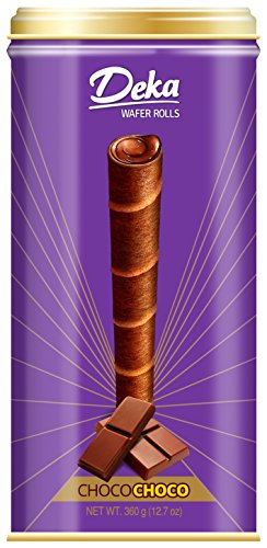 - Deka Wafer Rolls (ChocoChoco) 1 x 12.7 oz