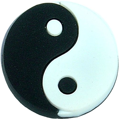 (Ying Yang Shoe Rubber Charm SC824 for Wristbands and)