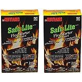 Safe Lite Fire Starter Squares, 24 squares - Pack of 2
