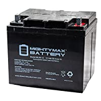 ML50-12 -12V 50AH SLA Replaces Interstate DCM0040 - Mighty Max Battery brand product