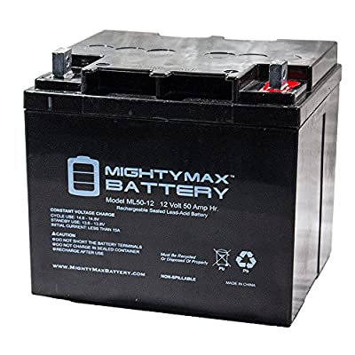 ML50-12 -12V 50AH Battery for Endeavor X 3-Wheel MM4001DX - Mighty Max Battery brand product