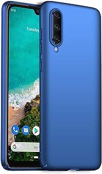 Richgle Funda Xiaomi Mi A3, Azul Ultra Slim Protectora Funda Case Duro Cover para Xiaomi Mi A3 (6.01