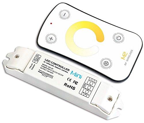 LEDENET M2 LED Controller Dimmer Color Temperature Adjustable Dimming CT Control Bi-colored White 3000K - 6500K 5050 3528 Strip Tape Lights