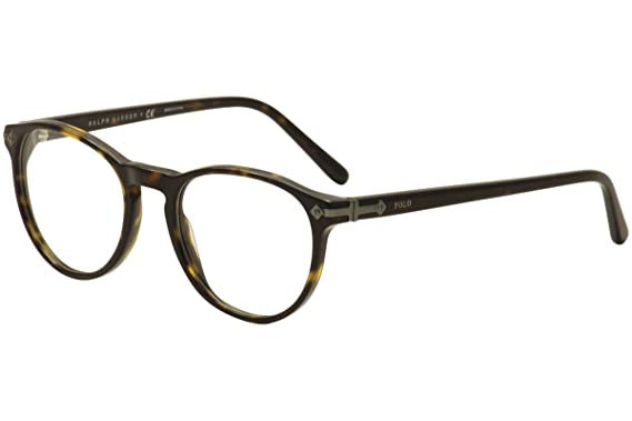 polo ph2150 eyeglass frames 5003 47 shiny dark havana