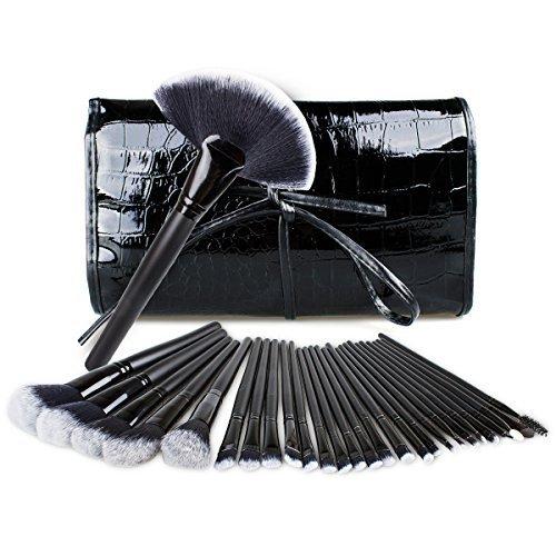 Set de brochas para maquillaje, Gloriz Conjunto de 32 brochas profesionales, Makeup Brushes, Brochas para sombra de ojos y...