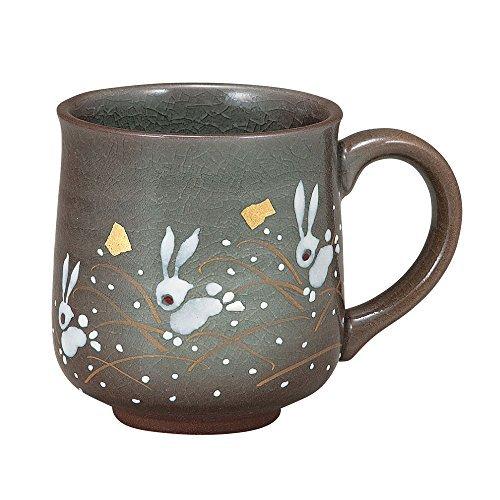 KUTANI YAKI(ware) Coffee Mug Rabbit