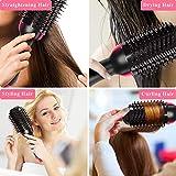 Hot Air Brush, Hair Dryer and Volumizer, 4-IN-1