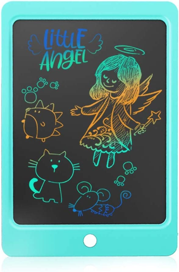 Color : Blue, Size : 10.5 inches LCD Writing Tablet 10.5 Inches Colorful Doodle Board Portable Drawing Tablet Handwriting Pad Suitable for Kids Blue LCD Drawing Board