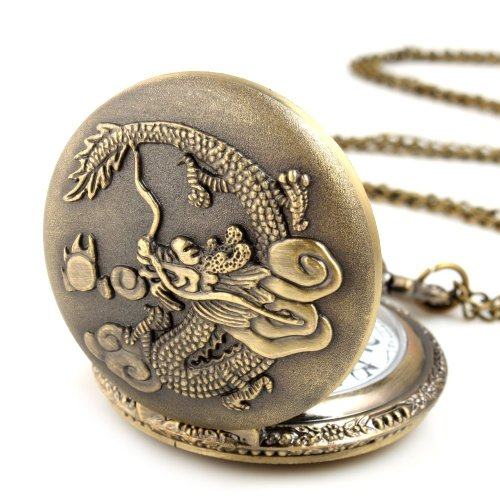 fuzzygreen-classic-unisex-chinese-dragon-pattern-antique-vintage-case-pocket-watch-with-chain