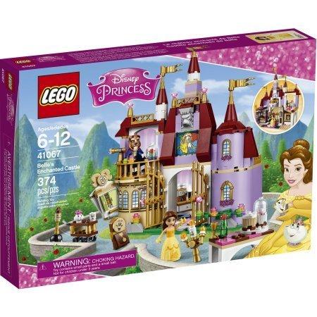 374 Count LEGO Disney Princess Belle's Enchanted Castle Model#41067 by LEGO