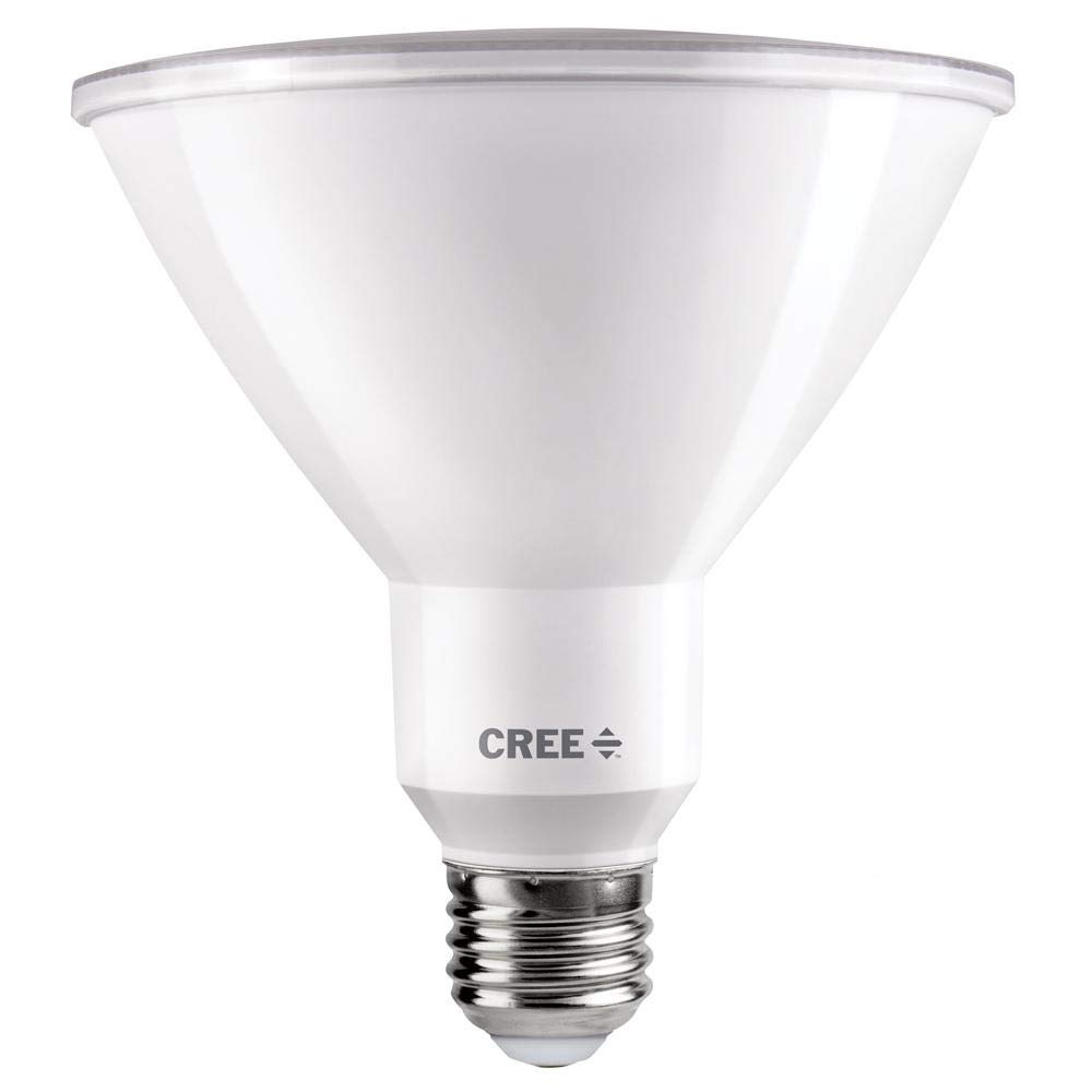 Cree 120W Equivalent Bright White (3000K) PAR38 Dimmable Exceptional Light Quality LED 40 Degree Flood Light Bulb by Cree