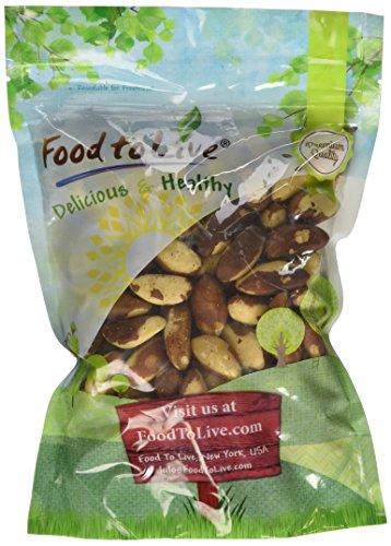 Food To Live® Premium Brazil Nuts (1 Pound)