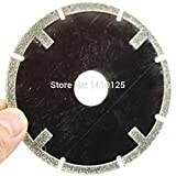 "JOINER 4"" inch Diamond Coated FLAT Tipped Cutting Disc Grinding Wheel Grit 60 Coarse for Angle Grinder Stone Marble Tile Granite Rock"