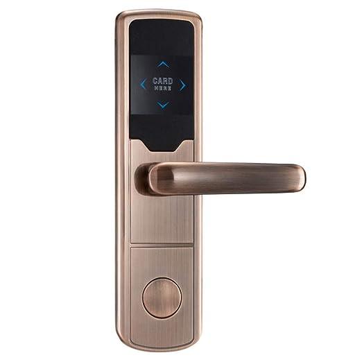YDBET Cerradura electrónica de la Puerta de inducción del ...