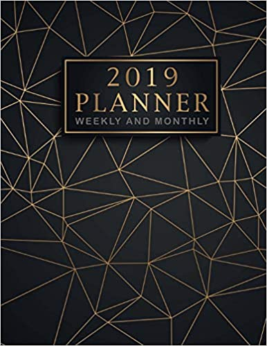 2019 Planner Weekly and Monthly: 12 Month and Weekly Daily Agenda Organizer and Calendar Journal Notebook Therapist Planner Monthly Goals Volume 1 52 Week Monday To Sunday 8AM To 9PM Hourly Appointment