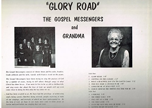 Michigan Messenger (Glory Road - Christian Music - Vinyl LP Record)