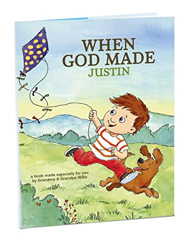 Hallmark Personalized Book: When God Made You - (Personalized Baby Bible)