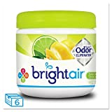 BRIGHT Air 900248 Super Odor Eliminator, Zesty Lemon and Lime, 14 oz (Case of 6)