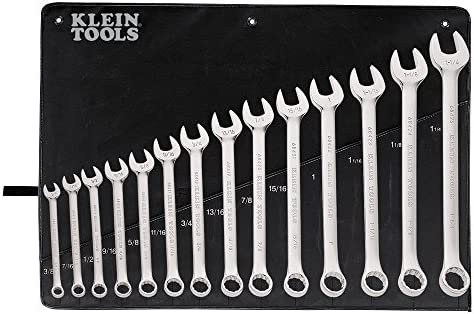 Combination Wrench Set, 14-Piece Klein Tools 68406