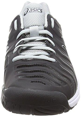 Chaussures Asics Noir noir 9090 Hommes Gel Tennis challenger 11 Gris Moyen TX0RXrqw