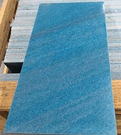 Ocean Blue Marble Tile Turquoise 12 X 24 For Flooring And Walls