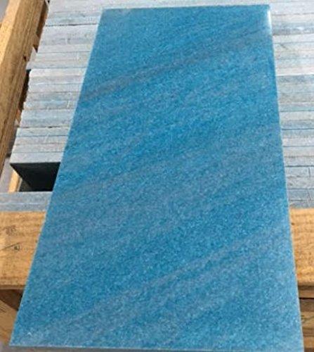 Ocean Blue Marble Tile (Turquoise) 12