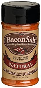 J&D's Bacon Salt, Natural, 2.5 Ounce (Pack of 3)