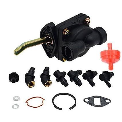 Partman Fuel Pump For Kohler Magnum M18 M20 MV16 MV18 MV20 KT17 KT19 Engine  Tractor Craftsman Lawn Mower Replaces 52 559 01-S 52 559 02 52 559 03-S