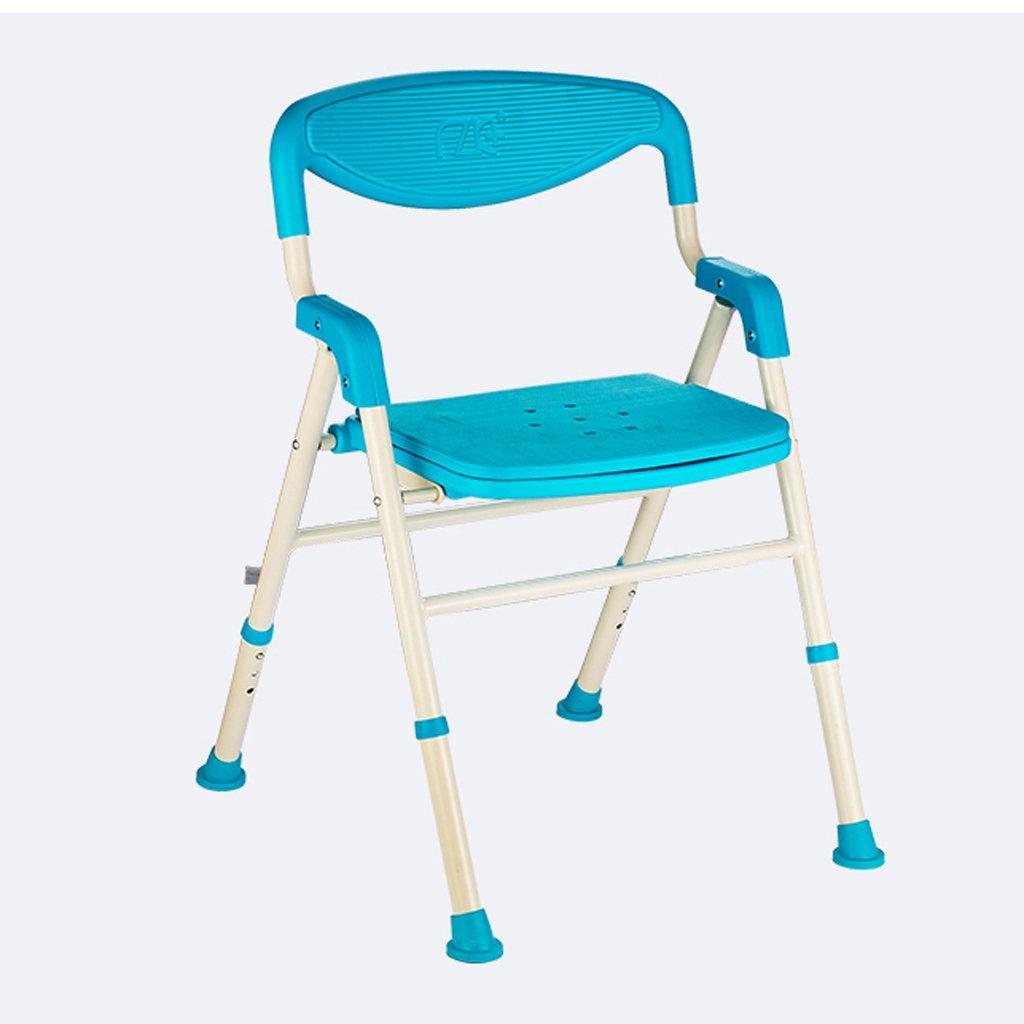 ALUP- シャワーチェア折り畳み式(ステンレス) - 高齢者、妊婦、障害者に適用   B07QLPT9TN