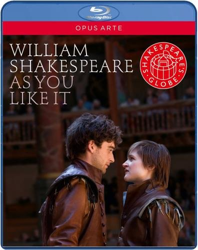 William Shakespeare: As You Like It (Recorded live at Shakespeare's Globe Theatre) [Blu-ray]