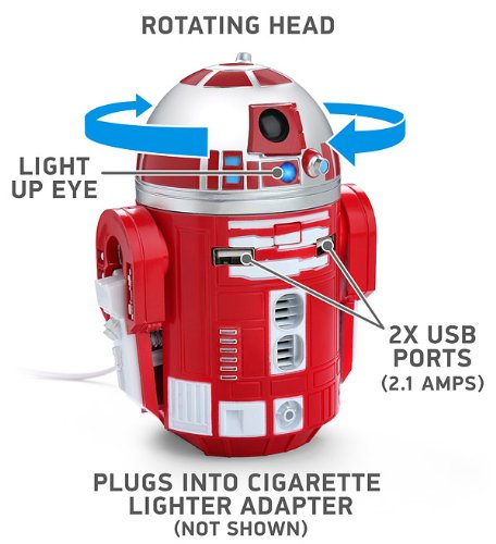 Star Wars R2-D9 Red Droid Robot Figure Tablet Phone for sale  Delivered anywhere in USA