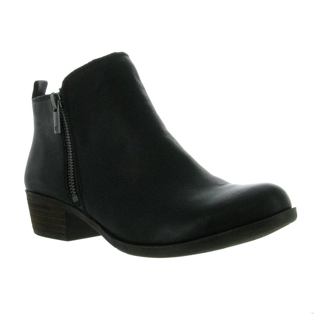 Lucky Brand  Women's Basel Boot, Black 03, 6.5 M US