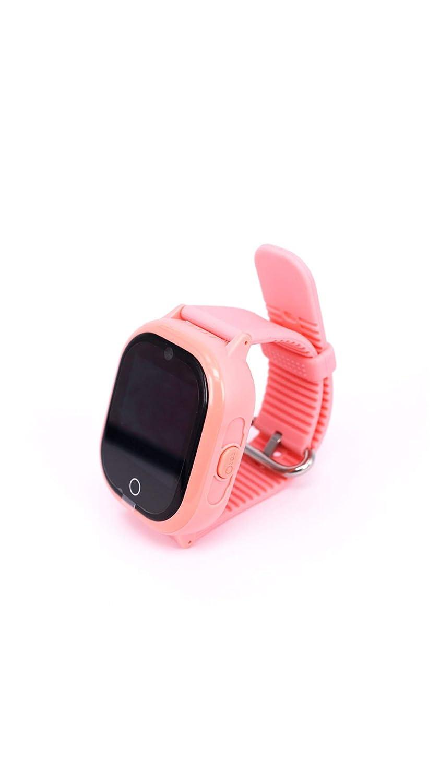 タッチスクリーン子供の携帯電話の時計の深さ防水&磁気充電スマートブレスレット B07PLPC3J2 Pink  Pink