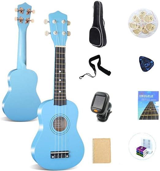 Guitarra Hawaii de 4 cuerdas 21 pulgadas de instrumento de ukulele ...