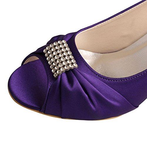Wedopus , Peep  Damen Peep , Toes  Violett fff6ad