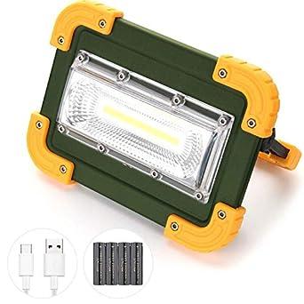 De Étanche4 Travail 180°Ip65 Led Luminosité Rechargeable RéglableOrientable ModesPour Projecteur 1000lm Extérieur 30wElekin Lampe EQrCxeBoWd