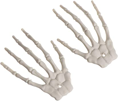 House  Game Supplies Skull Hand Photo Props Halloween Props Human Skeleton