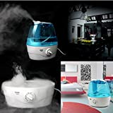 2l Ultrasonic Humidifier Air Mist Purifier Room Home Office...