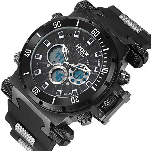 LYMFHCH Mens Sports Watches, Multifunctional...